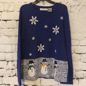 Victoria Jones Woman Sweaters - 🎄 Christmas Sweater snowmen ⛄️